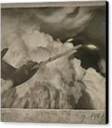 Ufo-1951 Canvas Print by Akos Kozari
