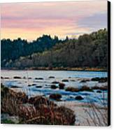 Umpqua Sunset Canvas Print