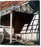 Uncle Seifs Wagon  Canvas Print by Don F  Bradford