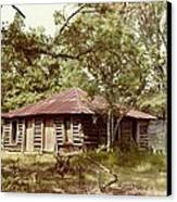 Uncle Toms Cabin Brookhaven Mississippi Canvas Print by Michael Hoard