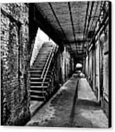 Under Alcatraz Canvas Print by Benjamin Yeager