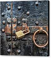 Under Lock And Key Canvas Print by Jeff Swanson