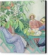 Under The Chestnut Tree Canvas Print
