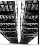 Under The Page Bridge Canvas Print