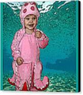 Under The Sea Canvas Print by Ellen Henneke
