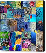 Underworld Canvas Print by Ramneek Narang