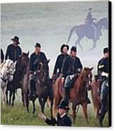 Union Cavalry On The March - Perryville Ky Canvas Print