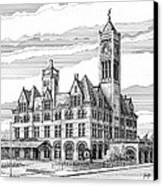 Union Station In Nashville Tn Canvas Print