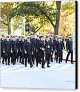 United States Naval Academy In Annapolis Md - 121240 Canvas Print by DC Photographer