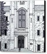University Of Arkansas Canvas Print by Frederic Kohli