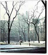 University Of Chicago 1976 Canvas Print by Joseph Duba