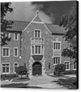 University Of Notre Dame Coleman- Morse Center Canvas Print by University Icons