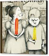 New Yorker May 27th, 2013 Canvas Print by Ana Juan