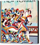 New Yorker November 8th, 2010 Canvas Print