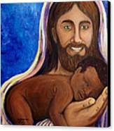 Unto You A Godly Son Is Given Canvas Print