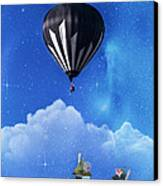 Up Through The Atmosphere Canvas Print by Juli Scalzi