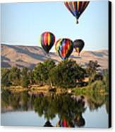 Up Up And Away Canvas Print by Carol Groenen