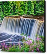 Upper Falls Canvas Print by Thomas Pettengill