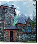 Uppity Hobbit Gothic Canvas Print by MJ Olsen