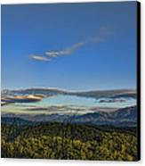 Upslope Flow Canvas Print by Steven Richardson