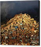 Urban Cross 2 Canvas Print by James Brunker