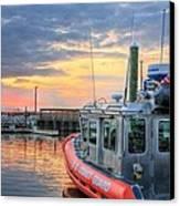 Us Coast Guard Defender Class Boat Canvas Print