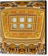 Us Library Of Congress Canvas Print by Susan Candelario
