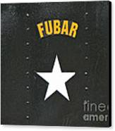 Us Military Fubar Canvas Print by Thomas Woolworth