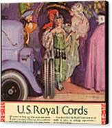 Us Royal Cords 1924 1920s Usa Cc Cars Canvas Print