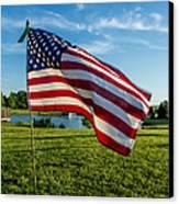 Usa Flag Canvas Print by Phyllis Bradd