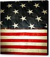 Usa Stars And Stripes Canvas Print