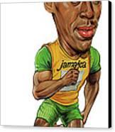 Usain Bolt Canvas Print