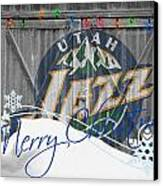 Utah Jazz Canvas Print