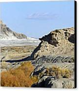 Utah Outback 42 Panoramic Canvas Print by Mike McGlothlen