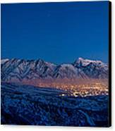 Utah Valley Canvas Print by Chad Dutson