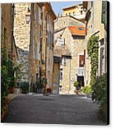 Valbonne - French Village Of Contradictions Canvas Print by Christine Till