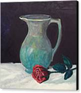 Valentine Rose Canvas Print by Peter Edward Green