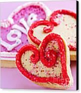 Valentines Hearts Canvas Print by Elena Elisseeva