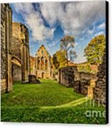 Valle Crucis Abbey Ruins Canvas Print