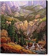 Valley King Canvas Print by W  Scott Fenton