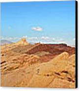 Valley Of Fire Pano Canvas Print