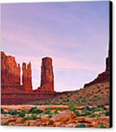 Valley Of The Gods - A Oasis For The Soul Canvas Print by Christine Till