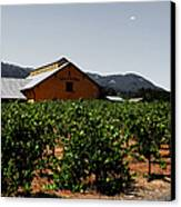 Valley Of The Moon Sonoma California 5d24485 V2 Canvas Print by Wingsdomain Art and Photography