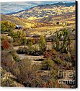 Valley View Canvas Print by Robert Bales