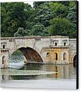 Vanbrughs Grand Bridge Canvas Print by Tony Murtagh