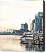 Vancouver Boats  Canvas Print