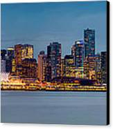 Vancouver From Lonsdale Quay Canvas Print