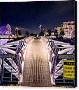 Vancouver Olympic Village Canvas Print