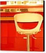 Vanity Red Canvas Print by Vishakha Bhagat