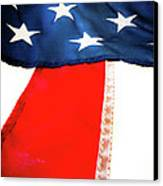 Variations On Old Glory No.1 Canvas Print by John Pagliuca
